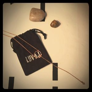 Love AJ Full Bloom Y Shaped Necklace